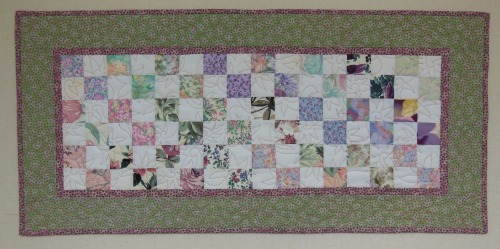 Four Patch Table Runner